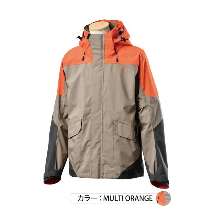 J-AMBLE UNJ-096 アーバンストレッチウォータープルーフジャケット マルチオレンジ◆全3色◆