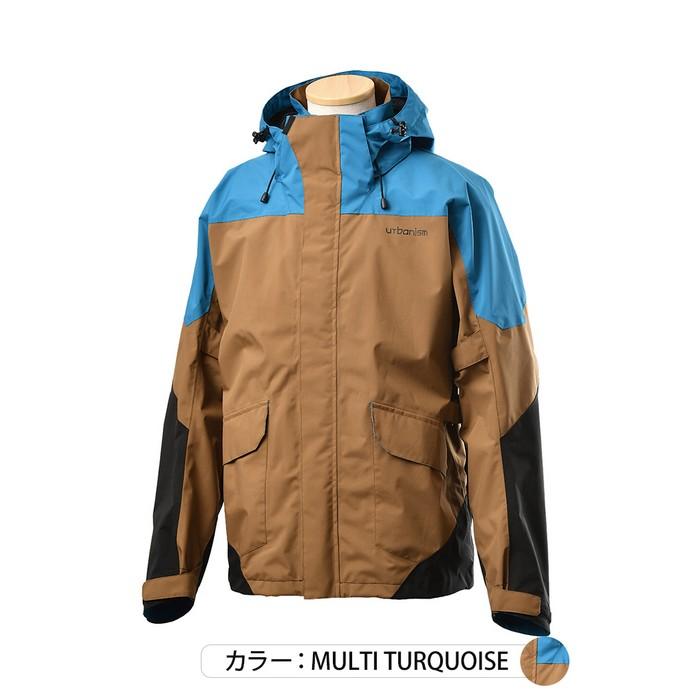 J-AMBLE UNJ-096 アーバンストレッチウォータープルーフジャケット マルチターコイズ◆全3色◆