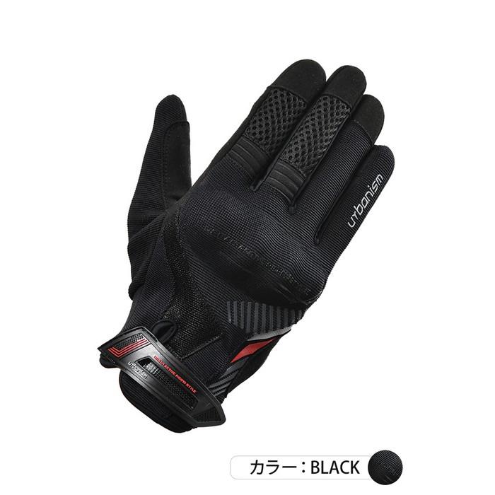 J-AMBLE (レディース)UNG-238 アーバンプロテクトメッシュグローブ ブラック◆全4色◆