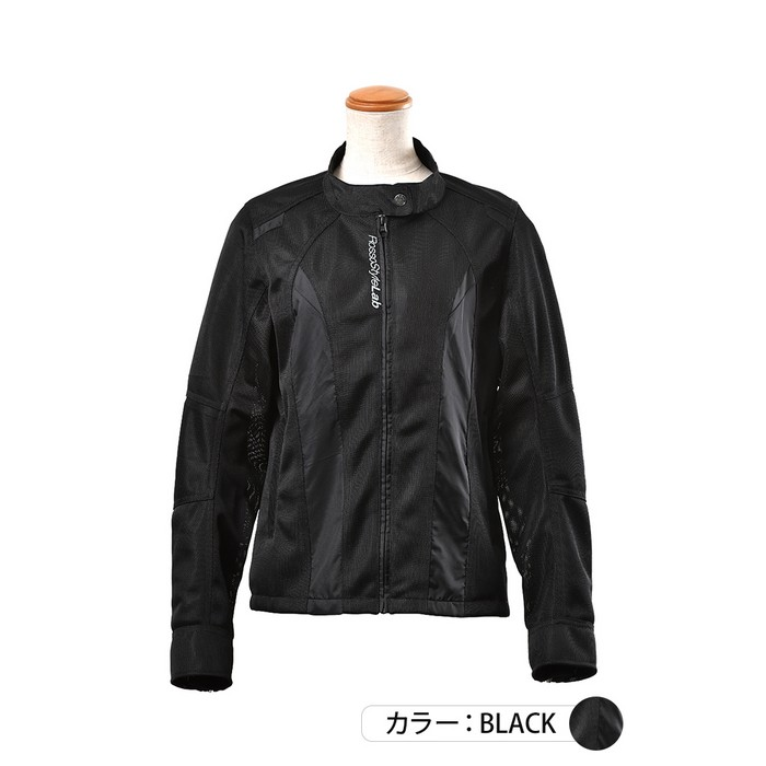 J-AMBLE ROJ-95 ライダースメッシュコンビジャケット ブラック◆全3色◆