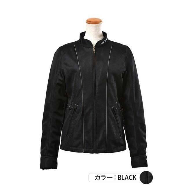 J-AMBLE ROJ-96 防風インナー付スタイルアップメッシュジャケット ブラック◆全4色◆