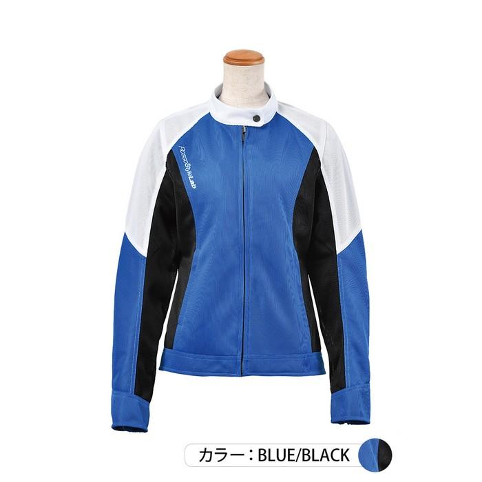 J-AMBLE ROJ-97 スタイルアップメッシュジャケット ブルー/ブラック◆全4色◆