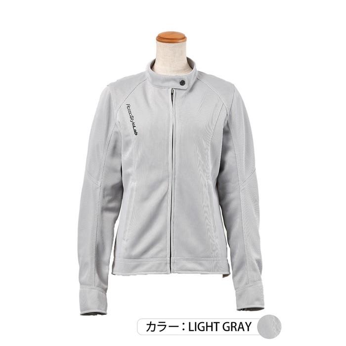 J-AMBLE ROJ-97 スタイルアップメッシュジャケット ライトグレイ◆全4色◆