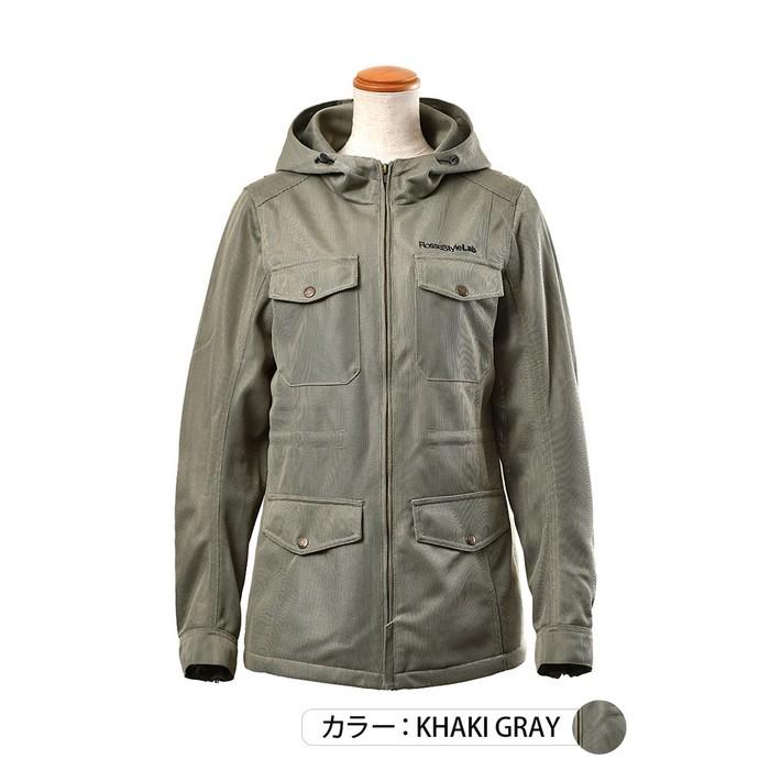J-AMBLE ROJ-98 メッシュフィールドジャケット カーキグレイ◆全2色◆