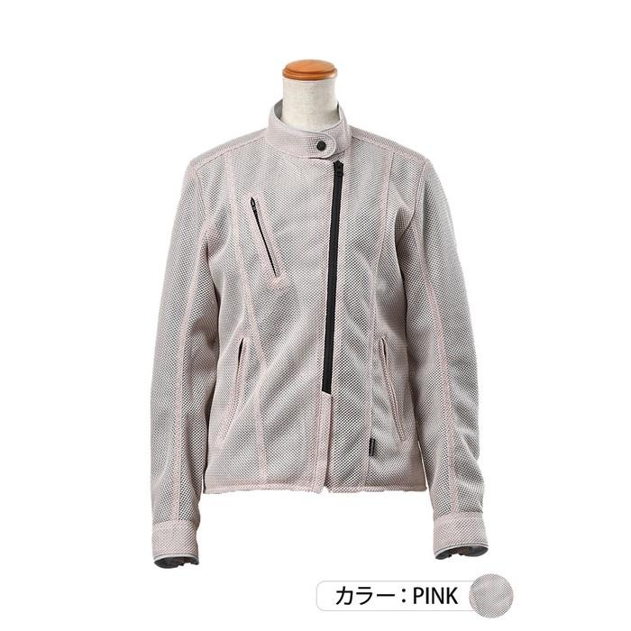 J-AMBLE ROJ-99 プレシャスライダースメッシュジャケット ピンク◆全2色◆