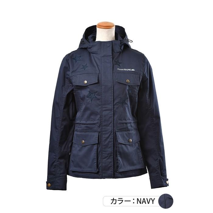 J-AMBLE ROJ-101 フーデッドミリタリージャケット ネイビー◆全2色◆