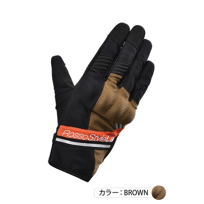 J-AMBLE RSG-322 プロテクトアクティブメッシュグローブ ブラウン◆全4色◆