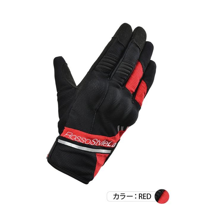 J-AMBLE RSG-322 プロテクトアクティブメッシュグローブ レッド◆全4色◆
