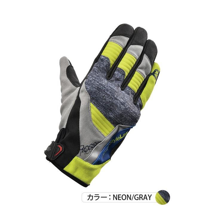 J-AMBLE RSG-325 プロテクトライディンググローブ ネオン/グレイ◆全3色◆