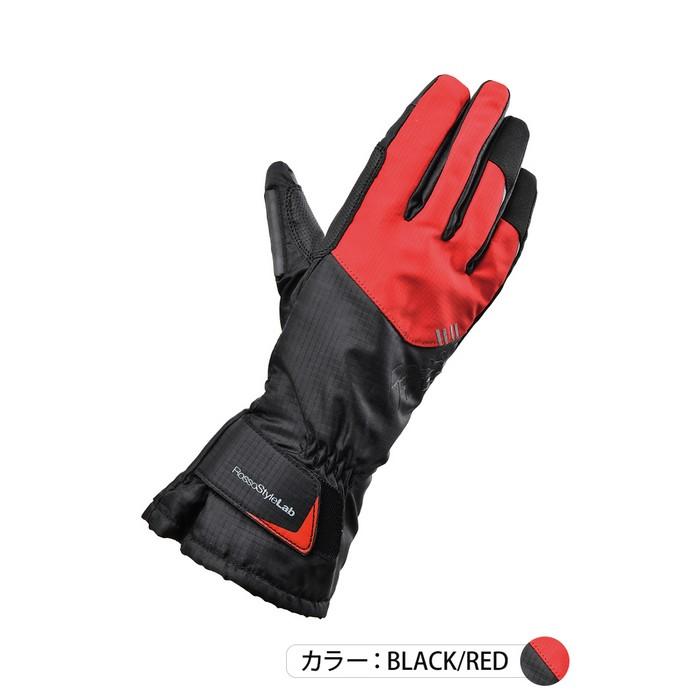 J-AMBLE RSG-327 レイングローブ ブラック/レッド◆全3色◆