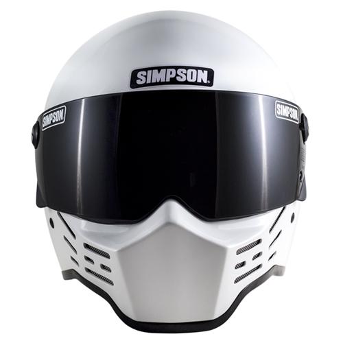 SIMPSON 【お取り寄せ】 M10 フルフェイスヘルメット ホワイト