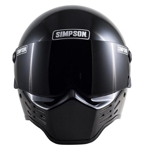 SIMPSON 【お取り寄せ】 M10 フルフェイスヘルメット ブラック