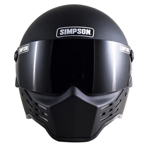 SIMPSON 【お取り寄せ】 M10 フルフェイスヘルメット マットブラック