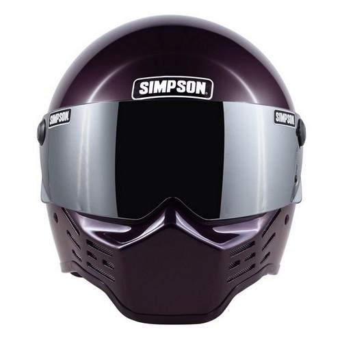 SIMPSON 【お取り寄せ】 M10 フルフェイスヘルメット ボルドー