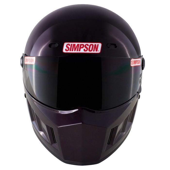 SIMPSON 【お取り寄せ】 SUPER BANDIT 13 フルフェイスヘルメット ボルドー