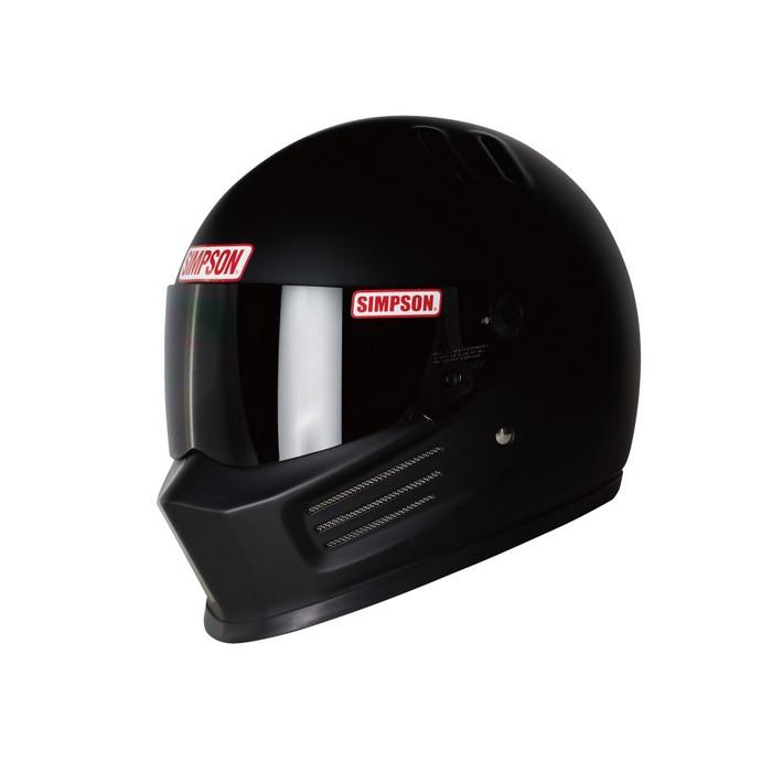 SIMPSON 【お取り寄せ】 BANDIT Pro フルフェイスヘルメット マットブラック