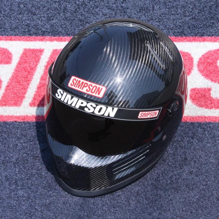 SIMPSON 【お取り寄せ】 BANDIT Pro フルフェイスヘルメット カーボン