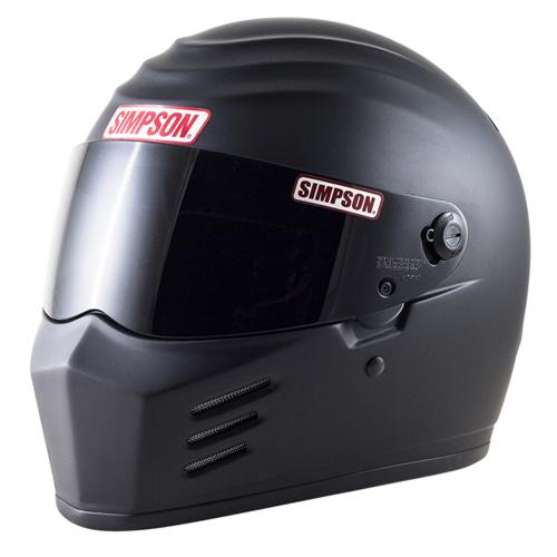 SIMPSON 【お取り寄せ】 OUTLAW フルフェイスヘルメット マットブラック