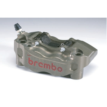 BREMBO P4.30 Radial CNC Caliper KIT 108mm RH 220.A016.10の右側のみ