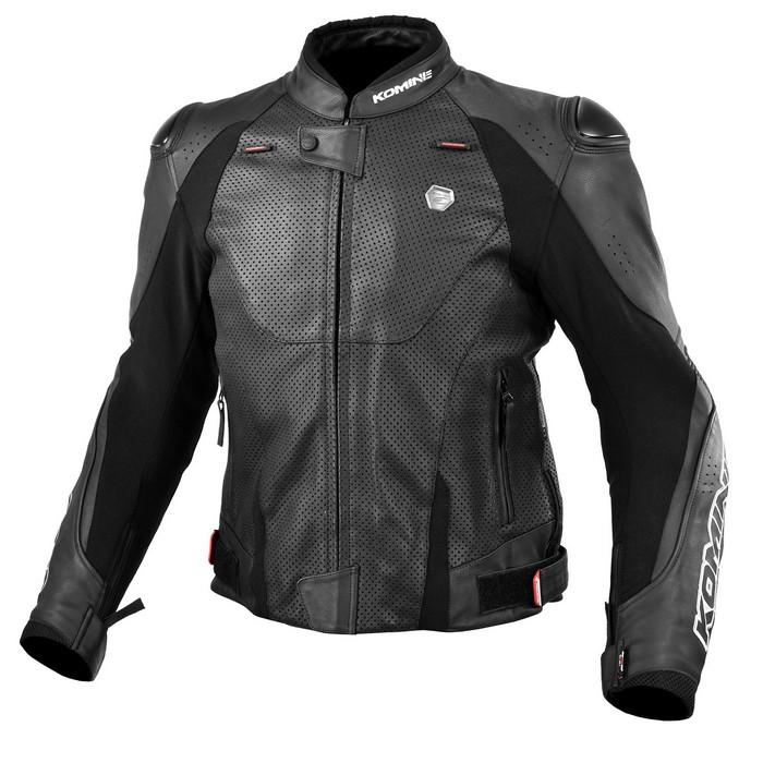 komine LJ-536 Protect Leather Jacket Black◆全2色◆
