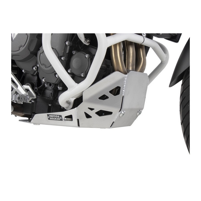 HEPCO&BECKER 8107605-0012 ヘプコ&ベッカー スキッドプレート シルバー 【TRIUMPH Tiger900Rally/GT/PRO 2020】