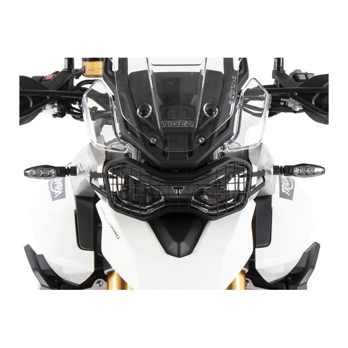 HEPCO&BECKER 7007605-0001 ヘプコ&ベッカー ヘッドライトグリル ブラック 【TRIUMPH Tiger900Rally/GT/PRO 2020】