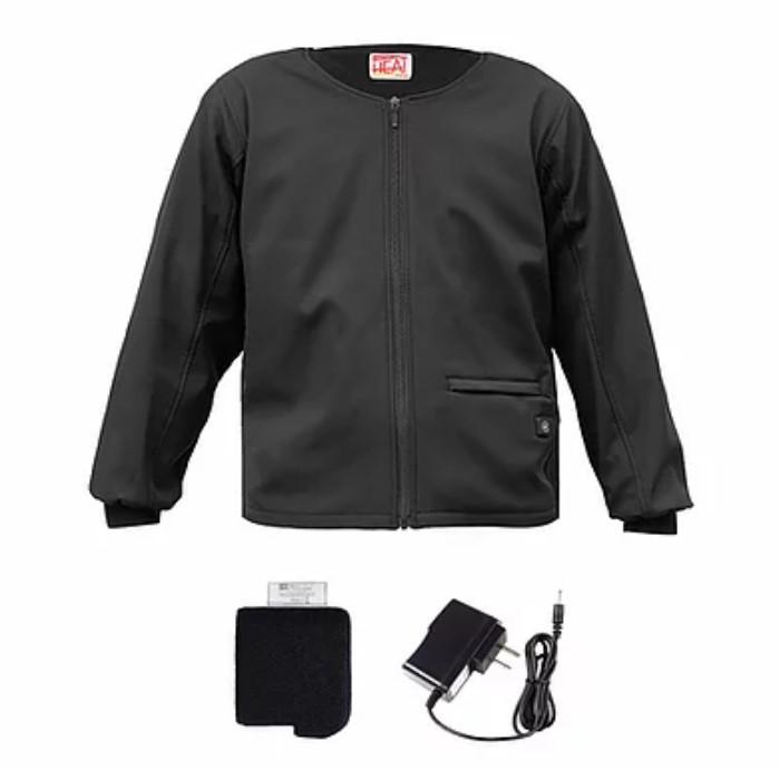 ALLEGRETTO (レディース)めちゃヒート電熱インナージャケット ブラック