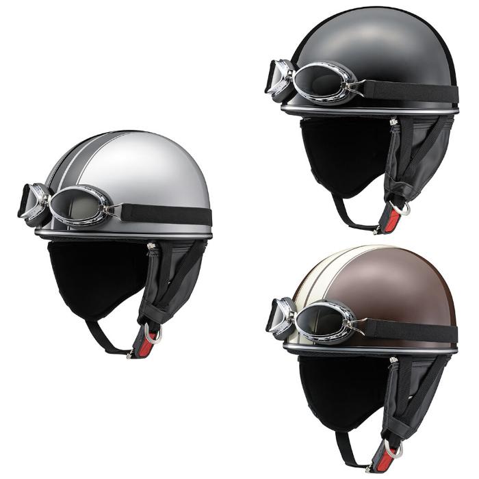 Y'S GEAR Y-555 CLASSIC ハーフヘルメット(半帽)