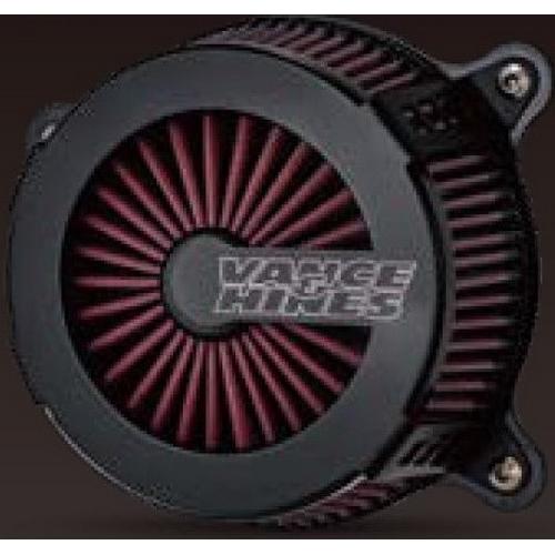 VANCE&HINES 40087 VANCE&HINES VO2エアクリーナー CAGE FIGHTER BLK【HARLEY DAVIDSON M8 Softail 18-20】