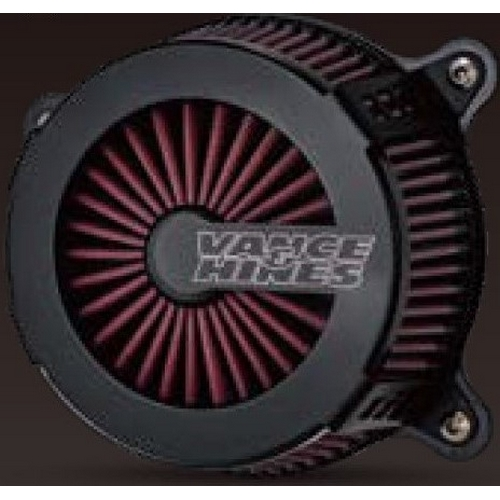 VANCE&HINES 40065 VANCE&HINES VO2エアクリーナー CAGE FIGHTER BLK【HARLEY DAVIDSON TC Touring 08-16/Softail 16-17】