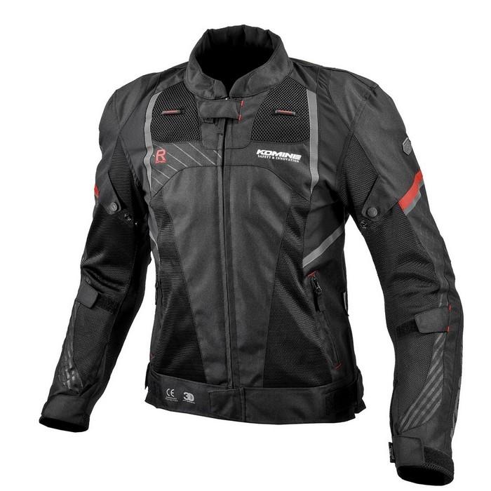 komine JK-151 R-SPEC プロテクトメッシュジャケット Black◆全3色◆
