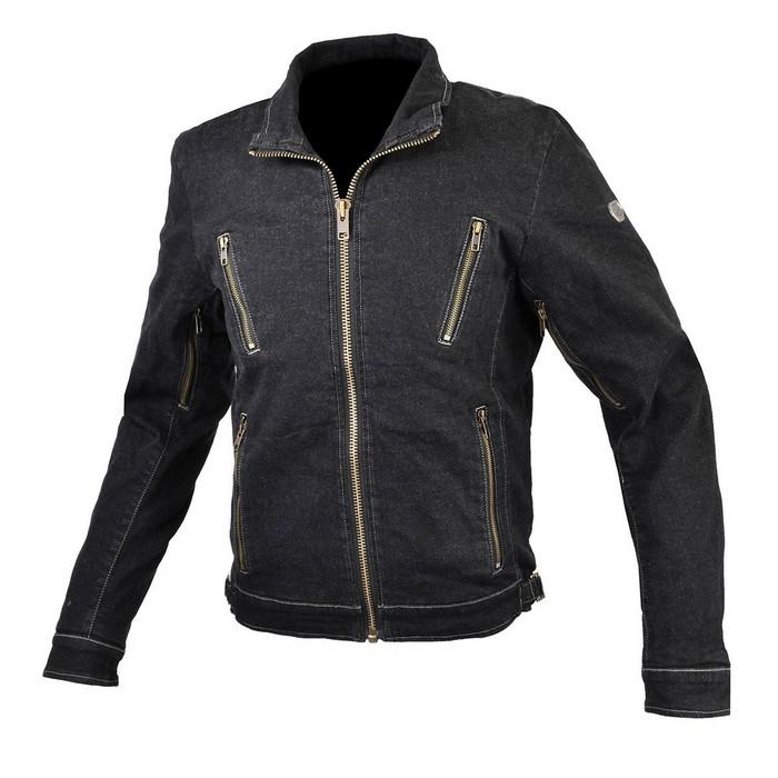 komine 大きいサイズ JK-153 プロテクトデニムシングルジャケット Black◆全3色◆