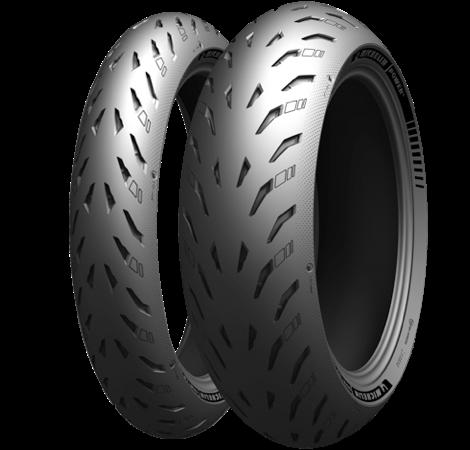 Michelin POWER5 120/70ZR17&160/60ZR17 前後セット