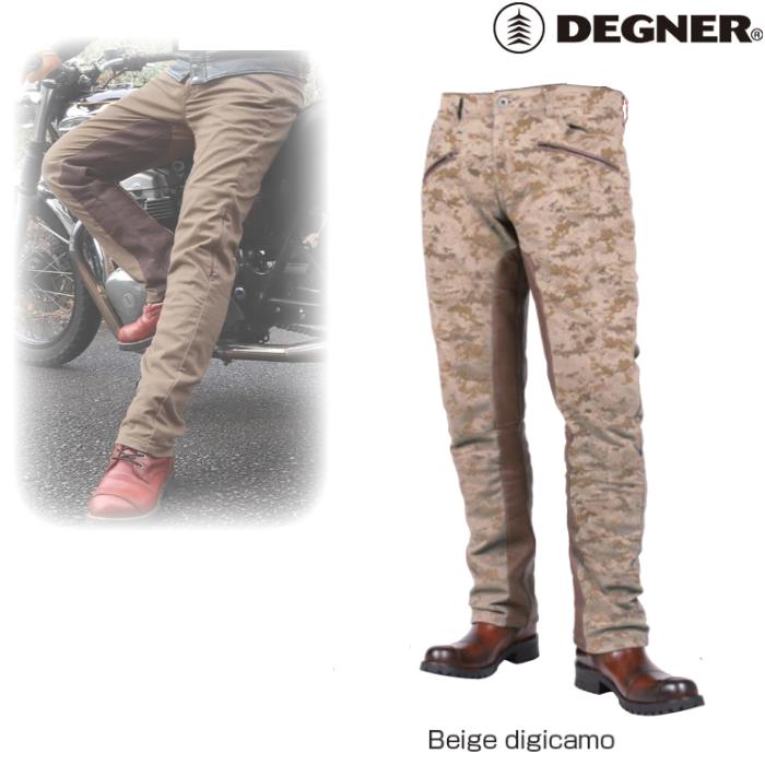 DEGNER DP-32 メンズコットンパンツ/ MEN'S COTTON PANTS ベージュデジカモ◆全5色◆