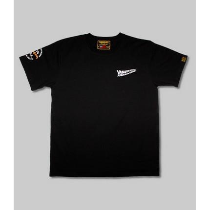 VANSON VS21803S コットンTシャツ ブラック/ホワイト ◆全3色◆