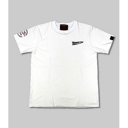 VANSON VS21803S コットンTシャツ ホワイト/ブラック ◆全3色◆