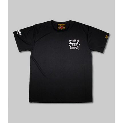 VANSON VS21804S メッシュTシャツ ブラック/ホワイト ◆全3色◆