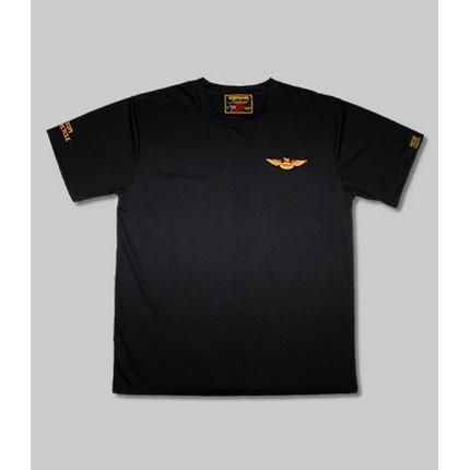 VANSON VS21806S メッシュTシャツ ブラック/イエロー ◆全3色◆