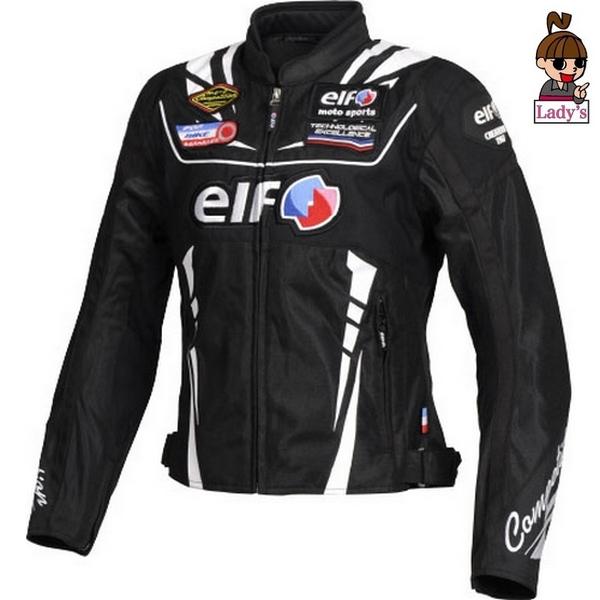 elf (レディース)EJ-S105  ヴィットリアエステートジャケット ブラック/ホワイト◆全5色◆