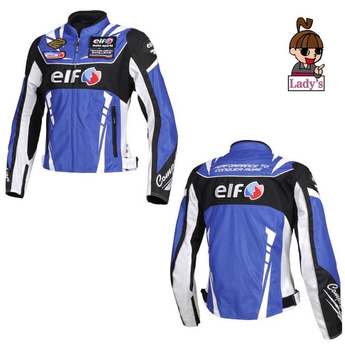 elf (レディース)EJ-S105  ヴィットリアエステートジャケット ブルー◆全5色◆