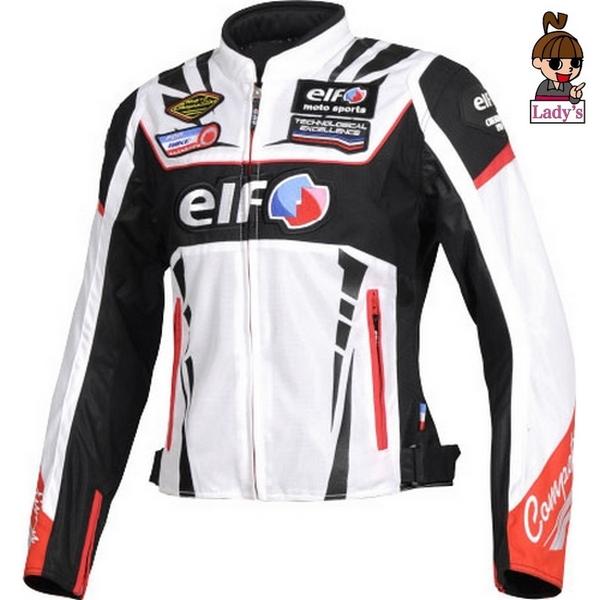 elf (レディース)EJ-S105  ヴィットリアエステートジャケット ホワイト◆全5色◆