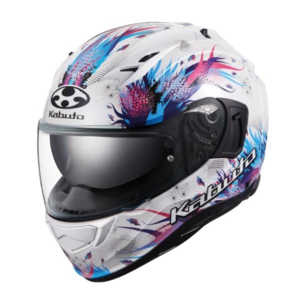 OGK kabuto KAMUI-3 LEIA [カムイ3 レイア] フルフェイスヘルメット パールホワイト