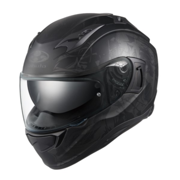 OGK kabuto KAMUI-3 TRUTH【カムイ3 トゥルース】 フルフェイスヘルメット フラットブラックグレー
