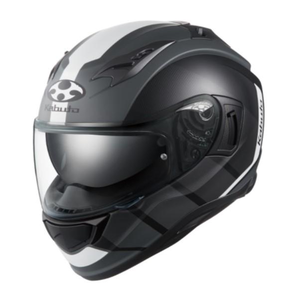 OGK kabuto KAMUI-3 JM [カムイ3 ジェーエム] フルフェイスヘルメット フラットブラックホワイト