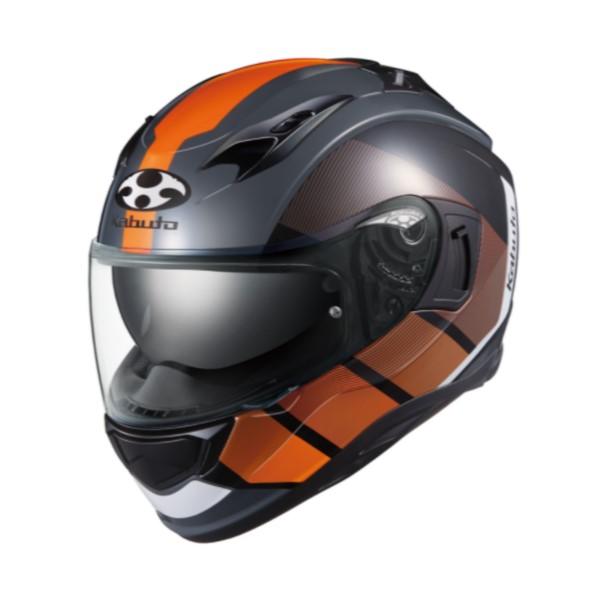 OGK kabuto KAMUI-3 JM【カムイ3 ジェーエム】 フルフェイスヘルメット ブラックオレンジ