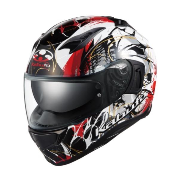 OGK kabuto KAMUI-3 PHOENIX [カムイ3 フェニックス] フルフェイスヘルメット ブラックレッド