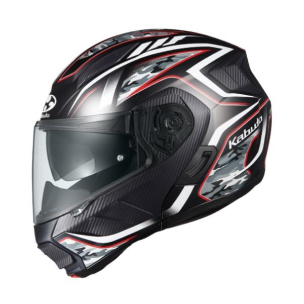 OGK kabuto RYUKI ENERGY【リュウキ エナジー】フルフェイスヘルメット フラットブラックレッド