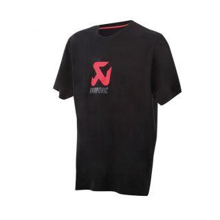AKRAPOVIC 【春夏ウェアアウトレット】個別配送のみ ロゴTシャツ 100%コットン BK