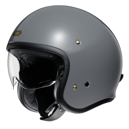 SHOEI ヘルメット J・O【ジェイ・オー】 ジェットヘルメット バサルトグレー