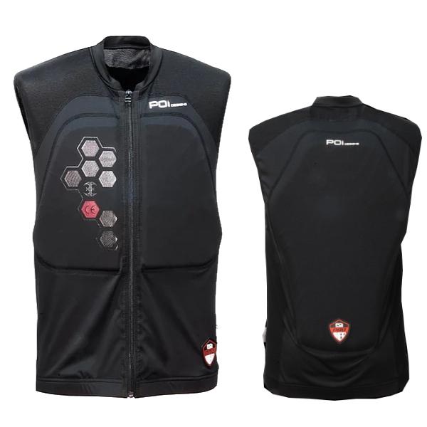 POI designs BPJ-02P-BK/M Guard Inner Vest CE